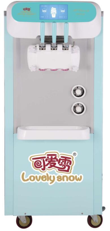 可爱雪冰淇淋机助商家摆脱租赁冰淇淋机新骗局